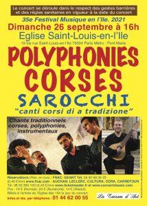 Ensemble Vocal et Instrumental Corse SAROCCHI
