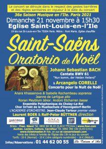 BACH, SAINT-SAËNS Oratorio de Noël, CORELLI
